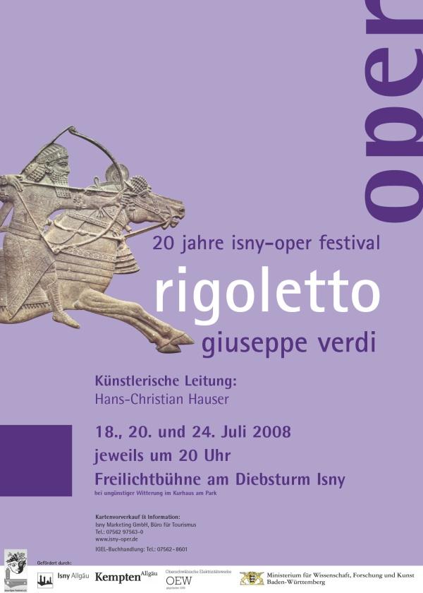 Festival 2008 - Giuseppe Verdi (1813-1901) »Rigoletto«