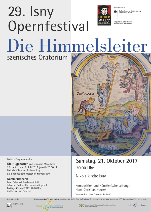 Die Himmelsleiter - Szenisches Oratorium im Rahmen des Isny Opernfestivals von Hans-Christian Hauser