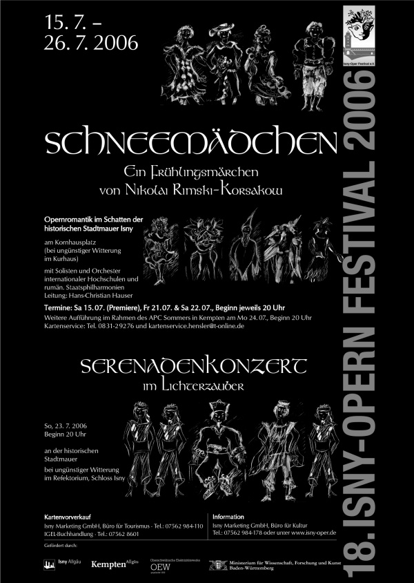 Festival 2006 - Nikolaj Rimski-Korsakow (1844-1908) »Schneemädchen, ein Frühlingsmärchen«