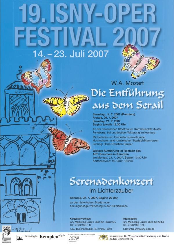 Festival 2007 - Wolfgang Amadeus Mozart(1756-1791) »Die Entführung aus dem Serail«