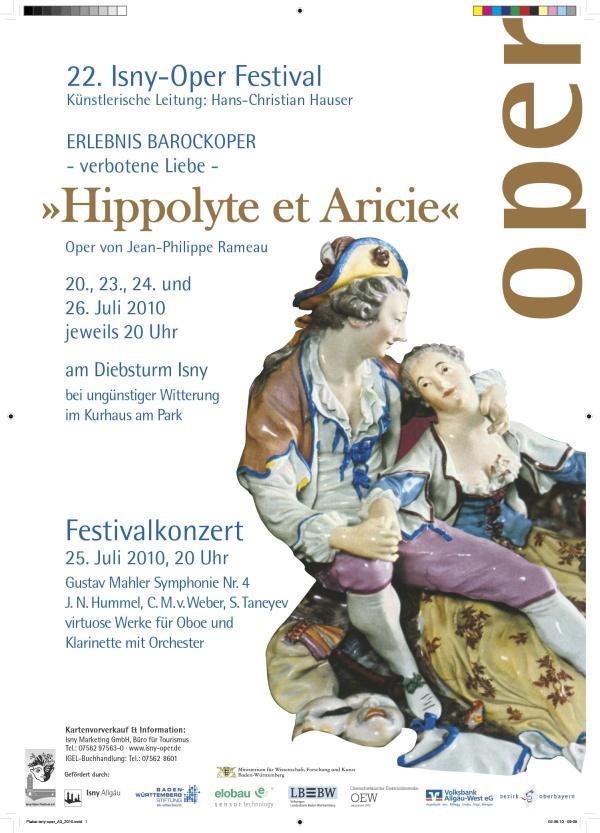 Festival 2010 - Jean-Philippe Rameau (1683-1764) »Hippolyte et Aricie«