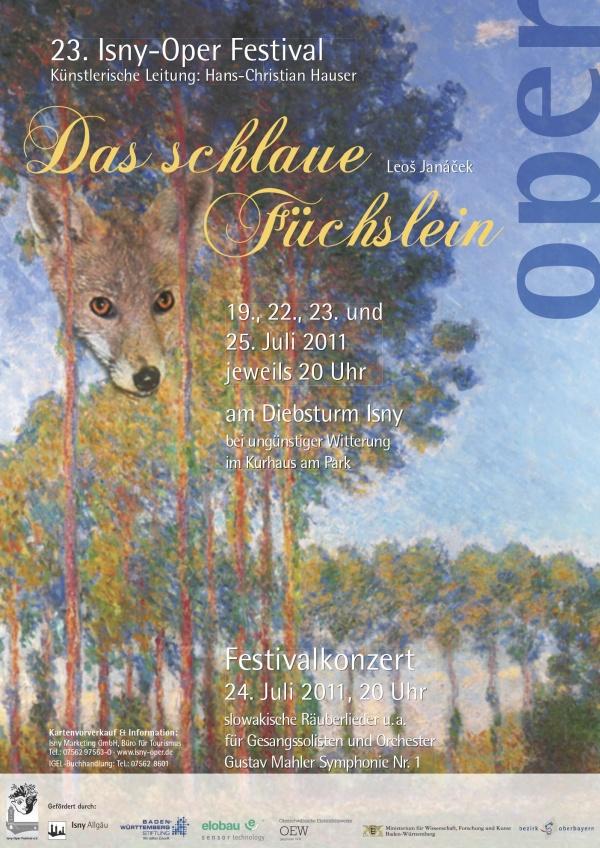 Festival 2011 - Leoš Janáček (1854-1928) »Das Schlaue Füchslein«