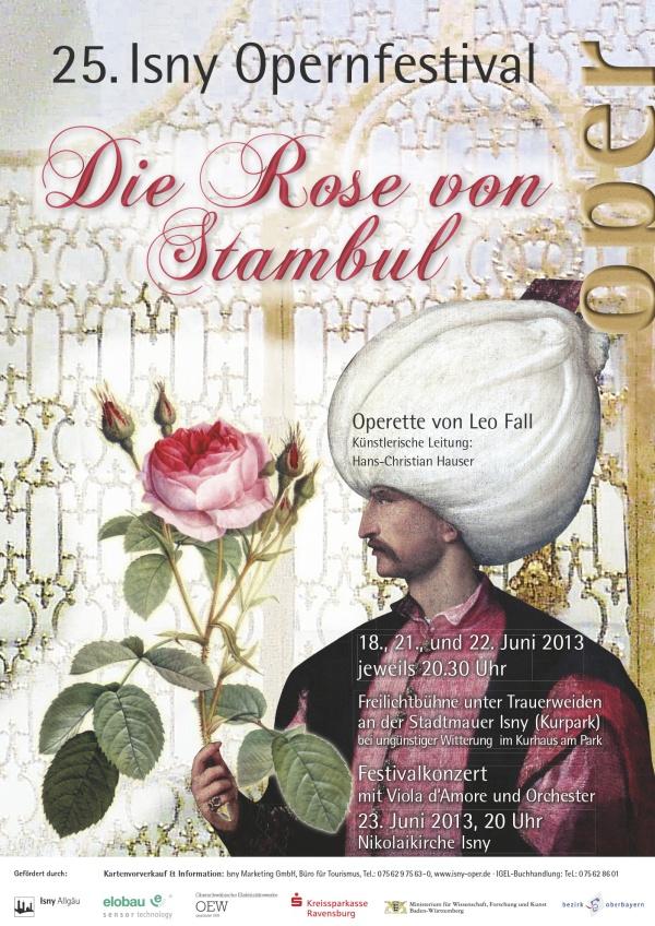 Festival 2013 - Leo Fall (1873-1925) »Die Rose von Stambul«