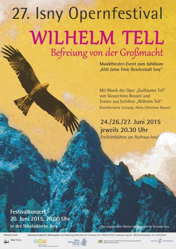 Festival 2015 - Gioacchino Rossini (1792-1868) »Wilhelm Tell«