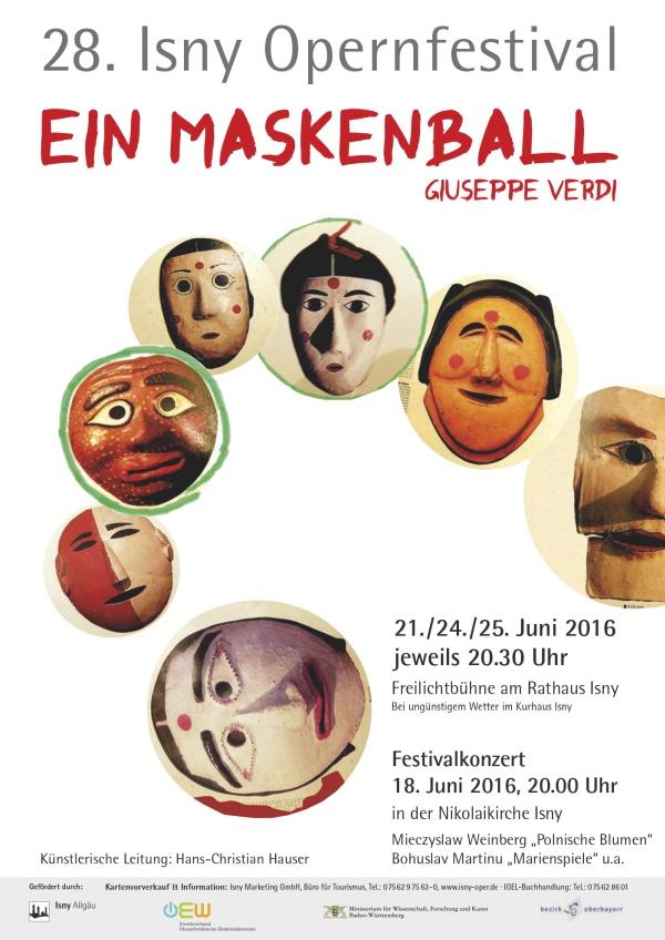 Ferstival 2016 - Giuseppe Verdi (1813-1901) »Ein Maskenball«