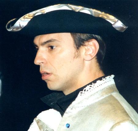 Ivan Zvarik, Bass, 2002 Als Herzog Theseus