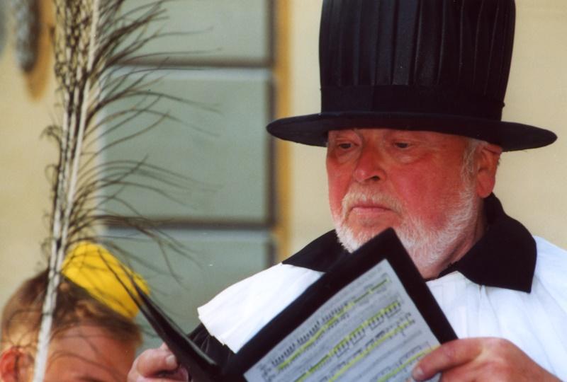 Peter Kaufmann, Schauspieler, 2003 als Buoso Donati in »Gianni Schicchi«