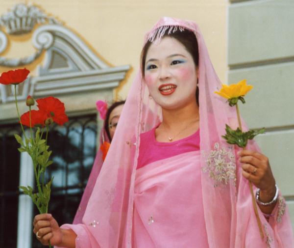 Min-Sung Kang, Sopran, 2003 Als Laura In »Jolanthe«