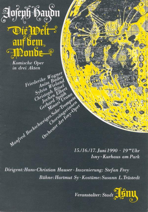 Festival 1990 - Joseph Haydn (1732-1809) »Die Welt auf dem Monde (Il mondo della luna)«