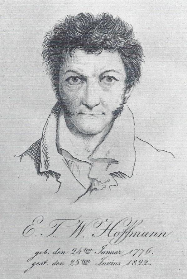 E.T.A. Hoffmann: Selbstporträt (Bild: Wikipedia)