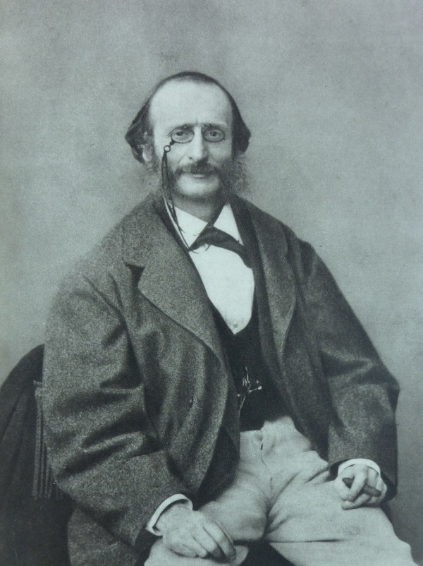 Jacques Offenbach, (Foto: Wikipedia, Félix Nadar)