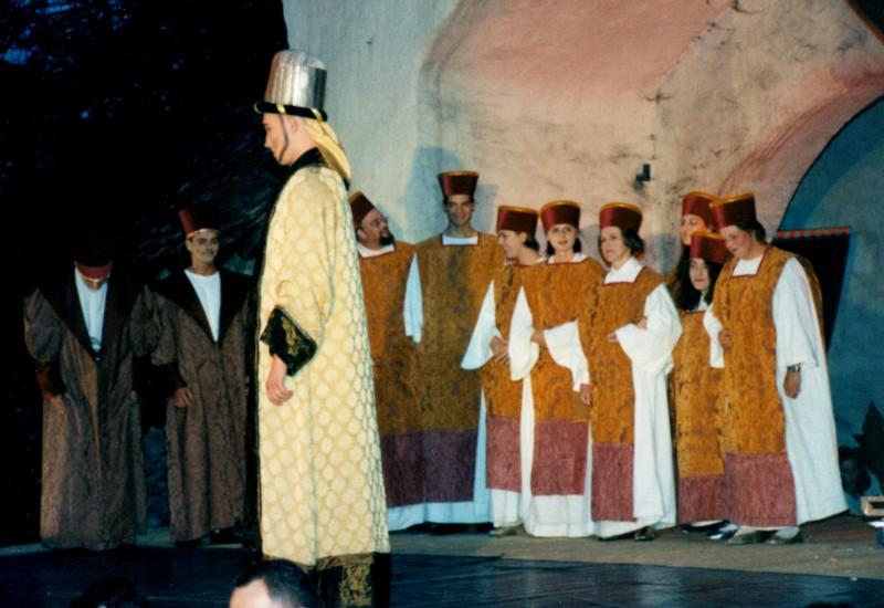 Festival 1998 »Die Zauberflöte« (Foto: Lienau)