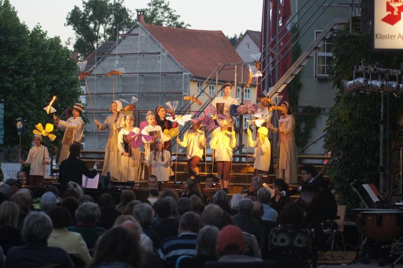 Festival 2015 - »Wilhelm Tell«, Premiere, Freilichtbühne vor dem Rathaus Isny (Foto: Kluge)
