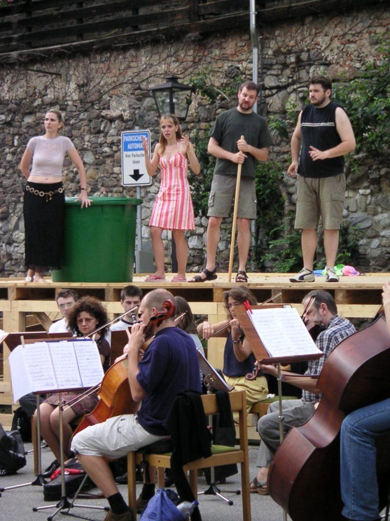 Festival 2004 - Proben zu »Falstaff« (Foto: Winkler)