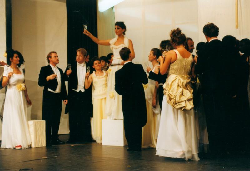 Festival 1993 »Die Fledermaus« (Foto: Günter Krause)