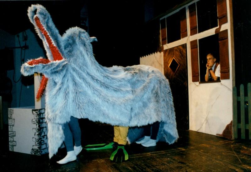 Festival 1997 »Peter und der Wolf« (Foto: Lienau)