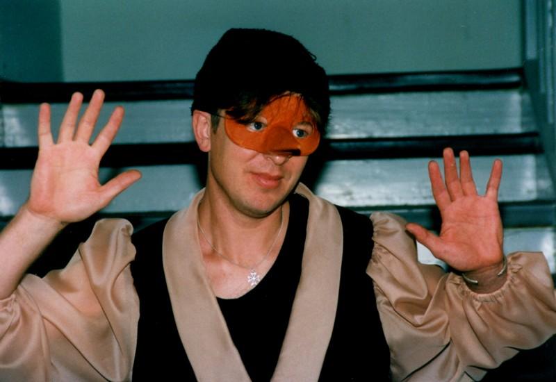 Festival 1999 - Hans-Christian Hauser - Pinocchio-Studien (Foto: Lienau)