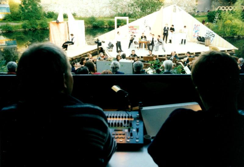 Festival 2000 - Proben (Foto: Lienau)