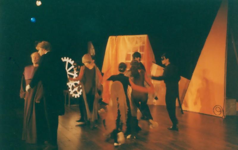 Festival 2000 - »Hoffmanns Erzählungen Teil (Foto: Lienau)