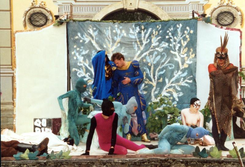 Festival 2002 - »The Fairy Queen«, Proben in Isny-Neutrauchburg (Foto: Lienau)