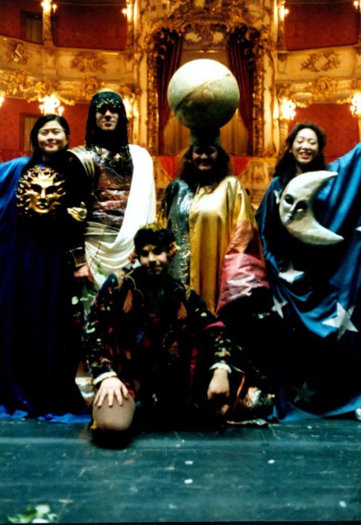 Festival 2002 - »The Fairy Queen«, Cuvillies-Theater München (Foto: Lienau)