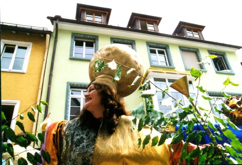 Festival 2002 - »The Fairy Queen« beim Kinderfest Isny (Foto: Altmann)