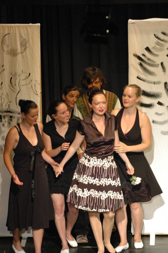 Festival 2006 - »Schneemädchen, Kurhaus Isny« (Foto: Winkler)