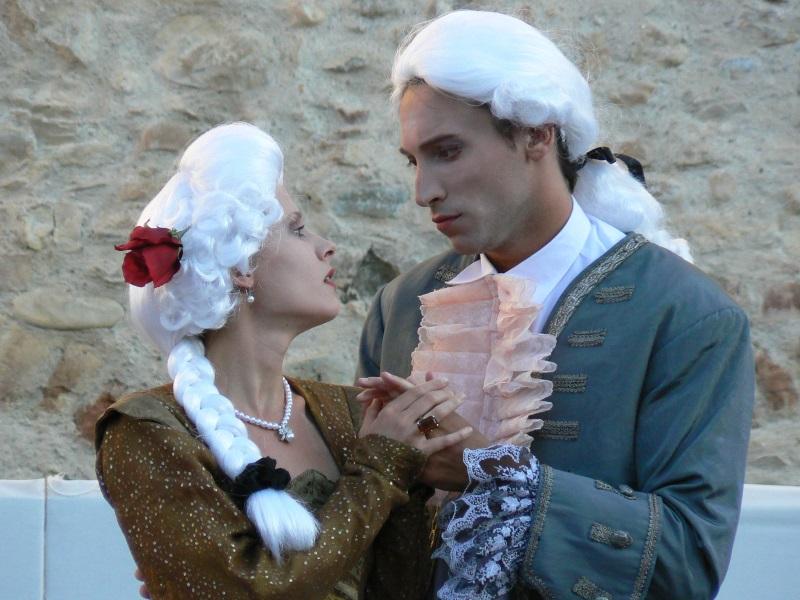 Festival 2010 - Szenenbild Arici und Hippolyte
