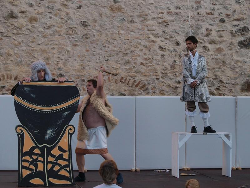 Premiere, 2. Akt (in der Unterwelt) (Foto: Voith)