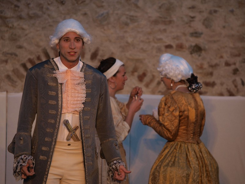 Premiere, 3. Akt (im königlichen Palast) (Foto: Voith)