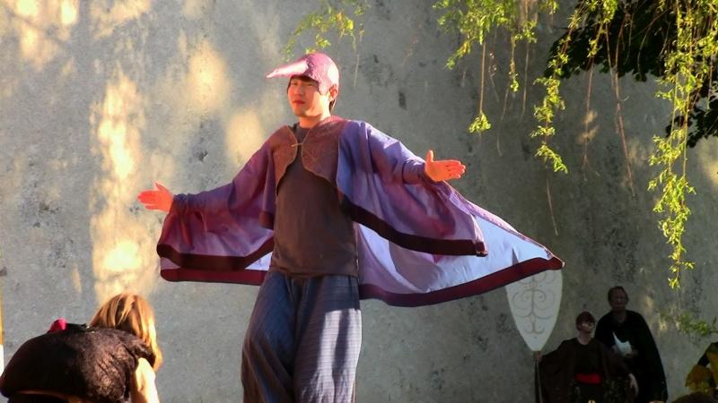 Festival 2013 - »Die Rose von Stambul«, Generalprobe, Freilichtbühne an der Stadtmauer Isny (Foto: Kluge)
