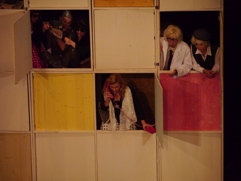 Festival 2014 - »Der Zar läßt sich photographieren«, Wilhelma-Theater, Stuttgart (Foto: Kluge)