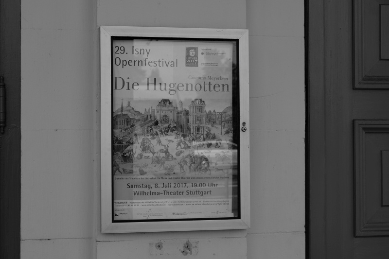 Festival 2017 - »Die Hugenotten«, Wilhelma-Theater, Stuttgart (Foto: Müller)