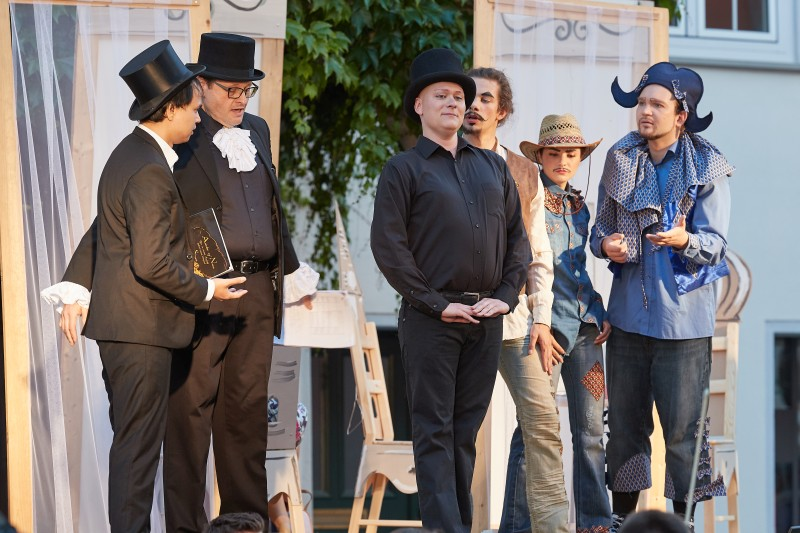 30. Isny Opernfestival - Ariadne auf Naxos (Foto: Beate Armbruster)