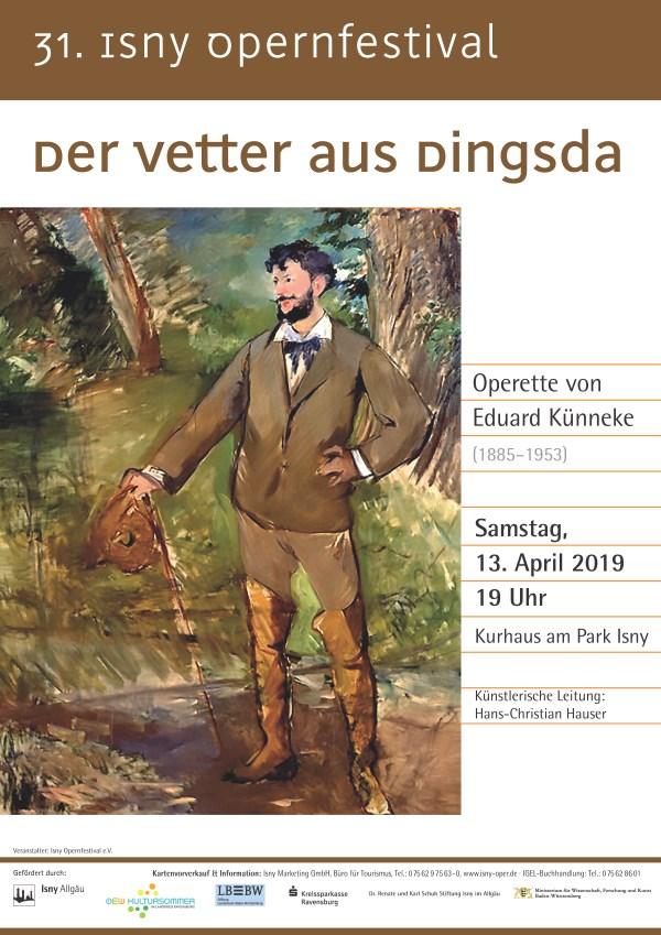 Eduard Künneke (1885-1953) - »Der Vetter aus Dingsda«