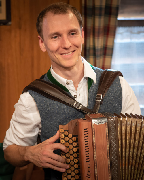 Jakob Schöttl, Harmonika