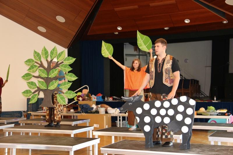 Proben »Der Kuhhandel« (Foto: Christiane Brockhoff)
